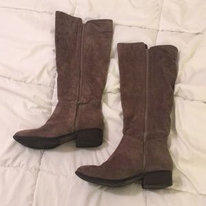 a new day Grey Suede Boots